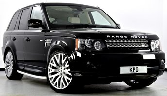 2012 LAND ROVER RANGE ROVER SPORT 3.0 SD V6 HSE Luxury Pack 4X4 5dr Auto [8] £22995.00