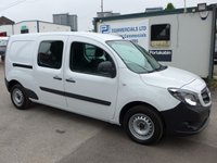USED 2015 65 MERCEDES-BENZ CITAN 1.5 109 CDI 5 SEATER DUALINER, 90 BHP, ELECTRIC PACK
