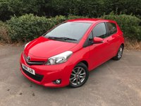 2014 TOYOTA YARIS 1.3 VVT-I ICON PLUS 5d 99 BHP £6490.00