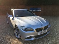 USED 2011 61 BMW 5 SERIES 2.0 520D M SPORT TOURING 5d AUTO 181 BHP