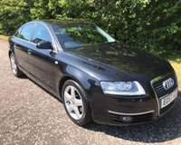 USED 2007 57 AUDI A6 2.0 TDI SE SAT NAV 4d 140 BHP 6 MONTHS PARTS+ LABOUR WARRANTY+AA COVER