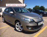 USED 2012 62 RENAULT MEGANE 1.5 DYNAMIQUE TOMTOM ENERGY DCI S/S 5d 110 BHP