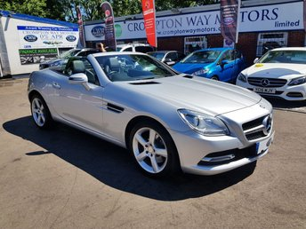 2014 MERCEDES-BENZ SLK 2.1 SLK250 CDI BLUEEFFICIENCY 2d AUTO 204 BHP £14100.00