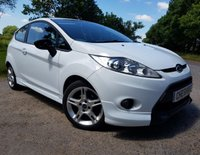 USED 2010 10 FORD FIESTA 1.6 ZETEC S TDCI 3d A/C WITH EXTRAS