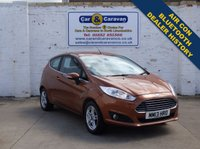 USED 2013 13 FORD FIESTA 1.2 ZETEC 3d 81 BHP Dealer History Bluetooth A/C 0% Deposit Finance Available