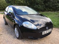 USED 2007 57 FIAT GRANDE PUNTO 1.2 ACTIVE 8V 3d 65 BHP S/H, Long MOT, Low Mileage