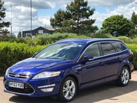2013 FORD MONDEO 2.0 TITANIUM X BUSINESS EDITION TDCI 5d AUTO 161 BHP £9995.00