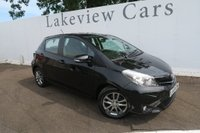 USED 2014 14 TOYOTA YARIS 1.3 VVT-I ICON PLUS 5d 99 BHP