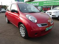USED 2009 58 NISSAN MICRA 1.2 VISIA PLUS 3d 80 BHP FULL DEALER HISTORY...1 FAMILY OWNED CAR FROM NEW....ONLY 8800 MILES