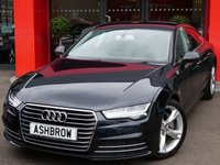 USED 2015 15 AUDI A7 SPORTBACK 3.0 TDI QUATTRO SE EXECUTIVE 5d AUTO 215 S/S BIG SPEC, UPGRADE HEATED + VENTILATED VALCONA LEATHER FRONT SEATS, UPGRADE ELECTRIC MEMORY FRONT SEATS W/ 4 WAY LUMBAR SUPPORT, UPGRADE REAR VIEW CAMERA, UPGRADE ELECTRIC POWER FOLDING HEATED MEMORY DOOR MIRRORS, AUDI DRIVE SELECT, CRUISE, FRONT + REAR MUD FLAPS, LED HEADLIGHTS W/ DRL, LED TAIL LIGHTS, DAB, BLUETOOTH W/ AUDIO STREAMING, 4 ZONE CLIMATE A/C, AUDI MUSIC INTERFACE, 19 IN Y DESIGN 5 SPOKE ALLOYS, AUTO HOLD, ELECTRIC TAILGATE,TYRE PRESSURE MONITORING SYSTEM,SP SAVING SPARE WHEEL,VAT Q