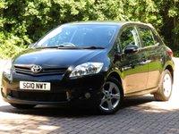 2010 TOYOTA AURIS 1.4 TR D-4D 5d 90 BHP £3333.00