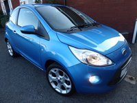 2013 FORD KA 1.2 TITANIUM 3d 69 BHP Private Plate Included £5000.00