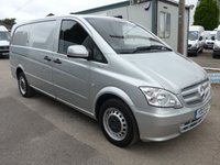2013 MERCEDES-BENZ VITO 113 CDI BLUEEFFICIENCY, 136 BHP [EURO], AIR CON, 1 COMPANY OWNER £SOLD