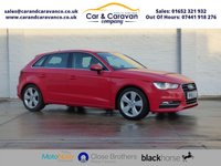 USED 2013 63 AUDI A3 2.0 TDI SPORT 5d 150 BHP One Owner All AUDI History DAB 0% Deposit Finance Available