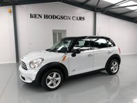 2013 MINI COUNTRYMAN 1.6 COOPER D ALL4 5d 112 BHP WHITE £9995.00