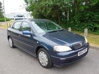 2002 VAUXHALL ASTRA 1.6 CLUB 5d AUTO 85 BHP £990.00