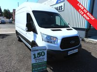 2015 FORD TRANSIT 2.2 350 125 BHP L2 LONG WHEEL BASE HI ROOF 1 OWNER FROM NEW  £9495.00