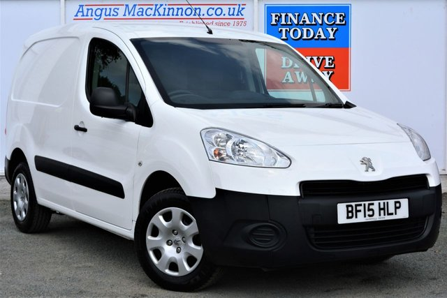 2015 15 PEUGEOT PARTNER 1.6 HDI PROFESSIONAL 850 Great Value Low Mileage Van with ASR Grip Control