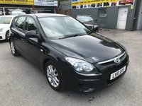 2010 HYUNDAI I30 1.4 COMFORT 5 DOOR 108 BHP IN METALLIOC GREY WITH ONLY 51000 MILES £3799.00