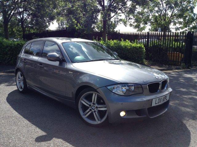 2011 11 BMW 1 SERIES 2.0 118D M SPORT 5d 141 BHP