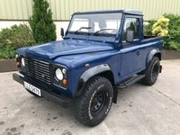 2003 LAND ROVER DEFENDER 90 2.5 90 PICK-UP TD5 1d 120 BHP £SOLD