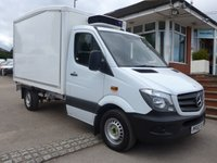 USED 2014 63 MERCEDES-BENZ SPRINTER 313 CDI AUTOMATIC MWB CHILLER BOX, 130 BHP [EURO 5]
