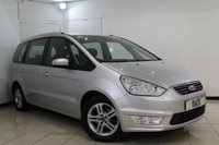 USED 2014 64 FORD GALAXY 2.0 ZETEC TDCI 5DR 138 BHP FORD SERVICE HISTORY + 7 SEATS + PARKING SENSOR + CLIMATE CONTROL + MULTI FUNCTION WHEEL + 16 INCH ALLOY WHEELS