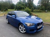 2012 BMW 1 SERIES 2.0 118D M SPORT 5d AUTO 141 BHP £8990.00