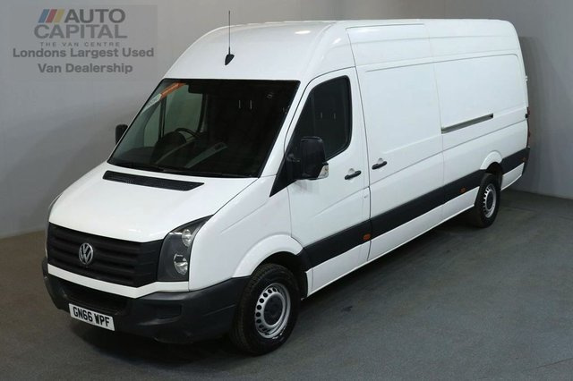 2016 66 VOLKSWAGEN CRAFTER 2.0 CR35 TDI H/R 135 BHP LWB L3 H3 RWD AIR CON VAN AIR CONDITIONING / ONE OWNER