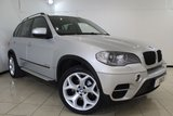 USED 2012 12 BMW X5 3.0 XDRIVE30D SE 5DR AUTOMATIC 241 BHP BMW SERVICE HISTORY + HEATED LEATHER SEATS + 7 SEATS + SAT NAVIGATION + PARKING SENSOR + BLUETOOTH + CRUISE CONTROL + SIDE STEPS + 20INCH ALLOY WHEELS