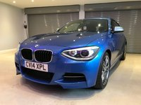 USED 2014 14 BMW 1 SERIES 3.0 M135I 3d 316 BHP 1 OWNER + FULL BMW SERVICE HISTORY + FULL LEATHER UPHOLSTERY