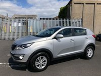 USED 2012 62 KIA SPORTAGE 1.7 CRDI 1 5d 114 BHP Kia Warranty to 09/2019