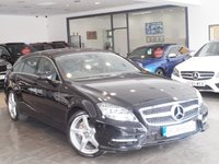 USED 2014 63 MERCEDES-BENZ CLS CLASS 3.0 CLS350 CDI BLUEEFFICIENCY AMG SPORT 5d AUTO 262 BHP COMMAND NAV+LEATHER+LOW MILES