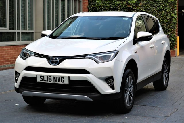 2016 16 TOYOTA RAV4 2.5 VVT-I BUSINESS EDITION PLUS 5d AUTO 197 BHP