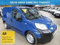 "USED 2012 12 PEUGEOT BIPPER 1.2 HDI S 75 BHP ONE OWNER -SIDE LOAD DOOR ""YOU'RE IN SAFE HANDS"" - AA DEALER PROMISE"