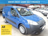 "USED 2012 62 PEUGEOT PARTNER 1.6 E-HDI SE L2 750 90 BHP LWB-ONE OWNER-TWIN SIDE LOAD DOORS ""YOU'RE IN SAFE HANDS"" - AA DEALER PROMISE"