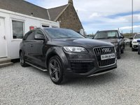 USED 2015 64 AUDI Q7 S Line Sport Edition Quattro 3.0 TDI Tip Auto ( 245 bhp ) One Previous Owner Low Mileage Full Audi Service History £5,000 Optional Extras Outstanding Example Pearl Paint