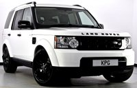 USED 2013 13 LAND ROVER DISCOVERY 4 3.0 SD V6 GS 4X4 5dr Auto [8] Black Exterior Pack, F/S/H ++