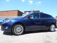 USED 2013 13 FORD FOCUS 1.0 ZETEC 5d 99 BHP ONE FORMER KEEPER £20 ROAD TA X
