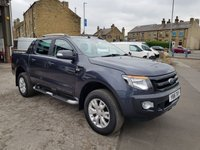 2016 FORD RANGER WILDTRAK 4X4 DOUBLE CAB 3.2TDCI 197 BHP £18495.00
