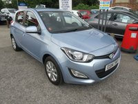 USED 2014 14 HYUNDAI I20 1.2 ACTIVE 5d 84 BHP FULL SERVICE HISTORY, ONLY 2 OWNERS, LONG M.O.T ,£30 ROAD TAX,