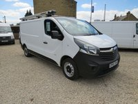 USED 2015 65 VAUXHALL VIVARO 2900 L2H1 1.6CDTI 115PS 6 SPEED LWB VAN ONE OWNER - FSH - ONLY 39,000m