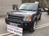 2005 LAND ROVER DISCOVERY 2.7 3 TDV6 HSE 5d AUTO 188 BHP £7495.00