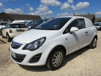2014 VAUXHALL CORSA 1.2 CDTI ECOFLEX 34562 MILES ONLY NO VAT TO PAY £6495.00