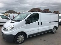 2011 RENAULT TRAFIC 2.0 LL29 DCI S/R 1d 115 BHP £6450.00