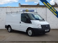 USED 2012 12 FORD TRANSIT 2.2 260 LR 99 BHP Service History Roof Rack AUX 0% Deposit Finance Available