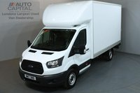 USED 2017 17 FORD TRANSIT 2.0 350 168 BHP L4 H3 EXTRA LWB HIGH ROOF TAIL LIFT LUTON E6 ONE OWNER FROM NEW, MANUFACTURE WARRANTY UNTIL 24/07/2020