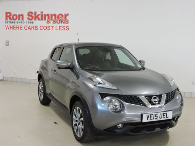 View our 2015 15 NISSAN JUKE 1.5 TEKNA DCI 5d 110 BHP