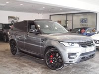 "USED 2014 14 LAND ROVER RANGE ROVER SPORT 3.0 SDV6 AUTOBIOGRAPHY DYNAMIC 5d AUTO 288 BHP +PAN ROOF+22"" ALLOYS+1 OWNER+"