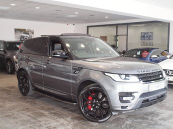 2014 LAND ROVER RANGE ROVER SPORT 3.0 SDV6 AUTOBIOGRAPHY DYNAMIC 5d AUTO 288 BHP £36990.00
